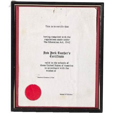 单词:certificate的图片解释