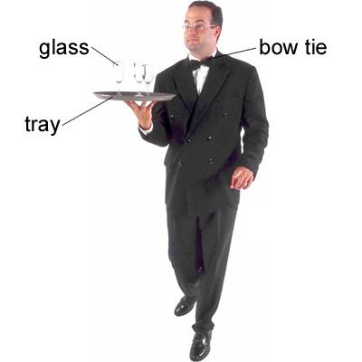 单词:waiter的图片解释